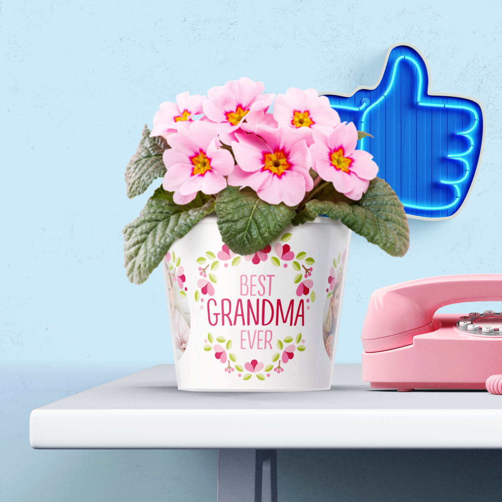Best Grandma Gift Flower Pot