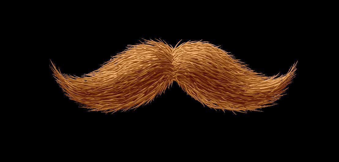 the gallery for  gt  brown moustache png clipart moustache clip art mustache outline