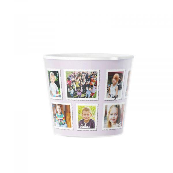 Gift Idea for Kindergarten Flowerpot with 12 Photos