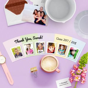 Graduation Gift Idea Kindergarten Pot with 6 Photos