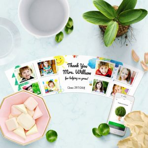 Great Photo Gift Thank You Flowerpot for Kindergarten 8 photos of kids