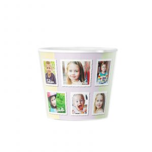 Kindergarten Pot 10 Photos PhotoGift Flowerpot