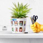 Kindergarten Thank You Gift Flowerpot with 14 Photos