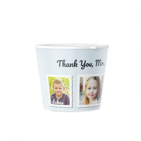 Make your own Photo Flowerpot Gift Kindergarten 4 Photos