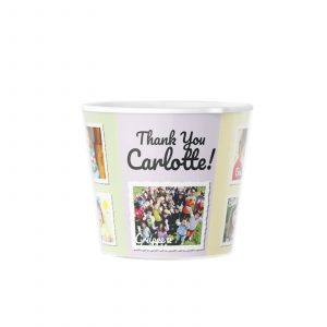 Personalised Graduation Gift Kindergarten Pot with 9 Photos