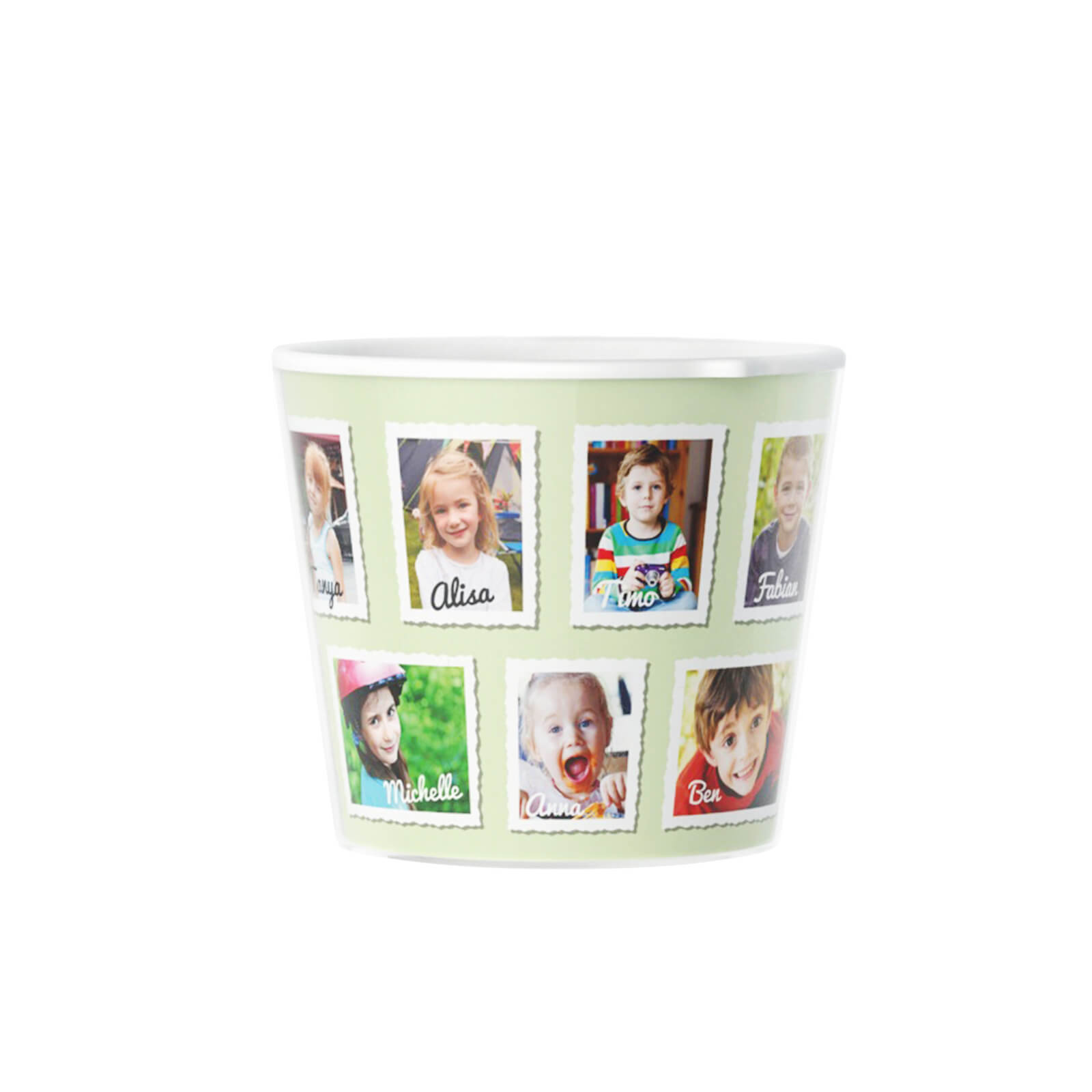 Personalised Teacher Gift Kindergarten Pot with 13 Photos