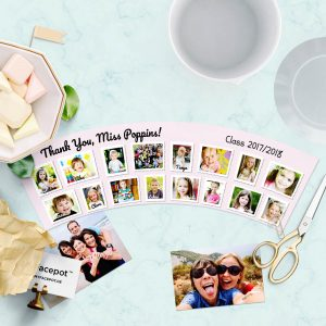 Photo Flowerpot Gift idea Kindergarten Pot 16 Photos