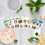 Thank You Gifts Teacher Flowerpot with 16 Photos