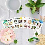 Thank You Gifts Teacher Flowerpot with 16 Photos