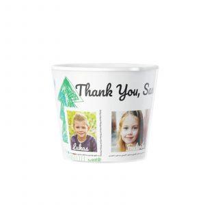 Thank You Kindergarten Flowerpot 5 Photos Creative Photo Gifts
