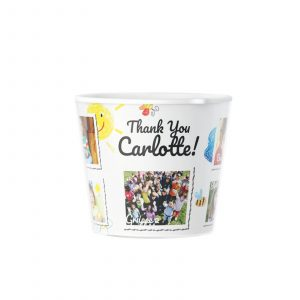 Thank You Kindergarten Graduation 9 photos of kids Flowerpot Gift