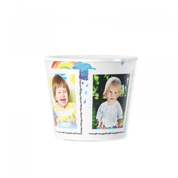 Thank You Teacher 3 Photos Plant pot with Photo